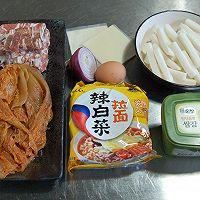 韩式年糕火锅的做法图解1
