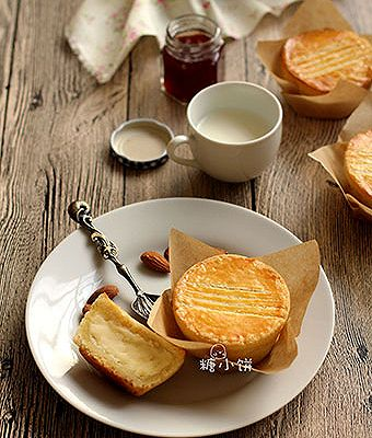 【法式乳酪月饼】很好吃的奶酪夹心派