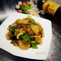 东北溜双段#金龙鱼外婆香小榨菜籽油 最强家乡菜#