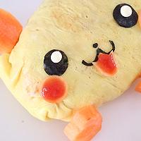 皮卡丘芝士蛋包饭 食物边角料的完美处理法的做法图解8