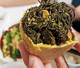 粗粮代表黄须菜团子(野菜团子)的做法