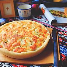 奶油土豆披萨