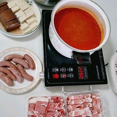 自制番茄汤火锅汤底