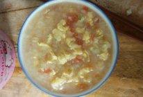 宝宝餐 西红柿鸡蛋疙瘩汤的做法