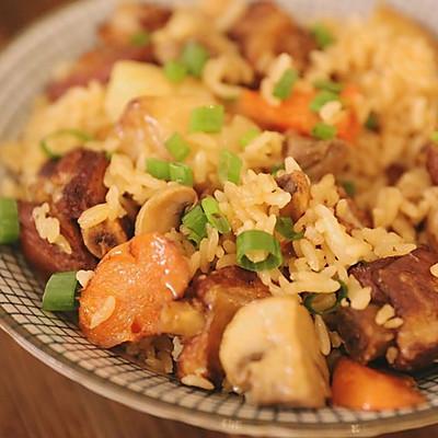 有肉有菜又有饭的一锅端美食