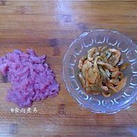 v菜谱菜谱做法#美的微波炉榨菜#的肉丝_【图解烟熏肉炒土豆图片