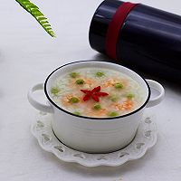 虾仁青豆糯米粥的做法图解10