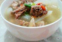 夏季清炖排骨萝卜汤的做法