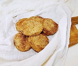 #换着花样吃早餐#香酥麻酱烧饼的做法