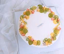小清新水果蛋糕的做法