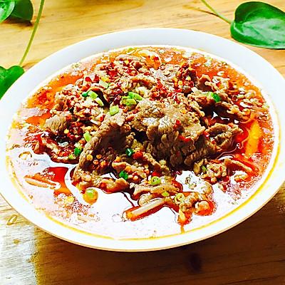 鲜香嫩滑——水煮牛肉