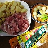 咖喱猪肉饭的做法图解1