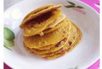 宝宝辅食:香蕉胡萝卜鸡蛋饼(适合8个月以上的宝宝)的做法