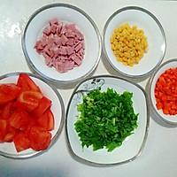 超入味番茄培根焖饭焗饭两用菜谱!的做法图解2