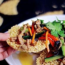 新年家宴菜:花开富贵&三鲜锅巴
