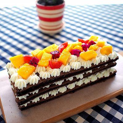 巧克力裸蛋糕