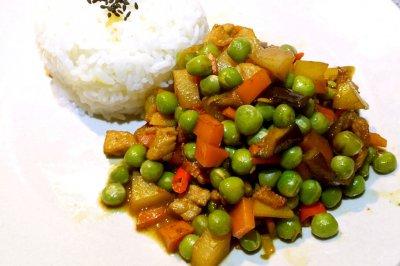 青豆下饭菜