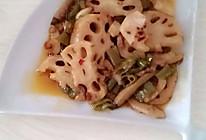 小米辣火辣藕片的做法