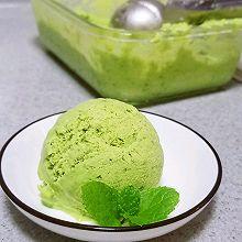 清凉夏日之自制抹茶冰激凌