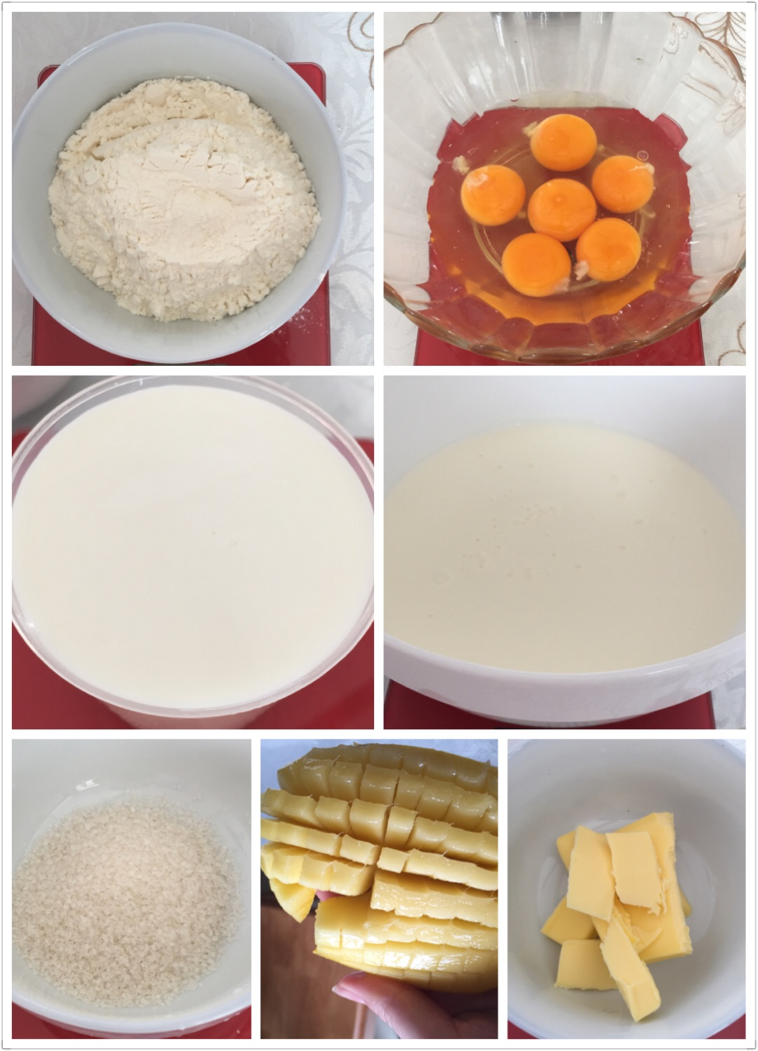 芒果千层蛋糕(新手必胜)的做法步骤