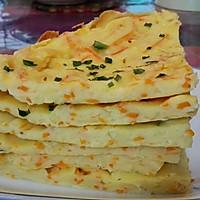 胡萝卜土豆丝鸡蛋饼的做法图解7