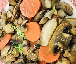 香煎白蘑菇的做法