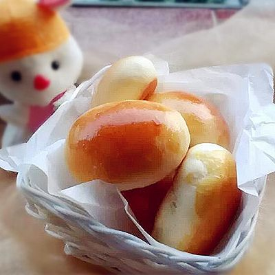 淡奶油小面包