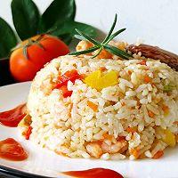 #秋天怎么吃#虾仁时蔬炒饭的做法图解10