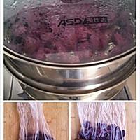 QQ糯糯椰蓉-芒果、紫薯、红豆沙-糯米糍的做法图解2