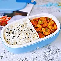 咖喱虾仁便当#硬核家常菜#的做法图解12
