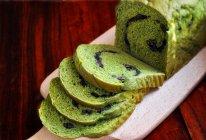 抹茶蜜豆吐司#东菱魔法云面包机#的做法
