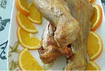 香橙烤羊腿的做法