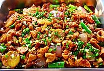 【创意小厨娘】家庭版干锅肥肠——简单易学,吃着超过瘾。的做法