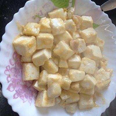 蟹黄汪豆腐