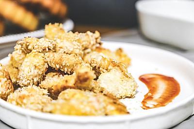 辅食日志 | 自制鸡米花(18M+)