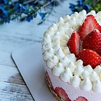 草莓可可慕斯蛋糕的做法图解12