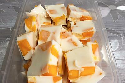小白也能做的快手甜品-芒果椰奶冻