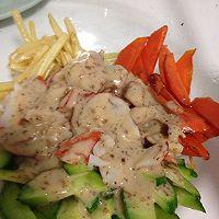 蒸大虾沙拉(大长今剧中料理改良)的做法图解6
