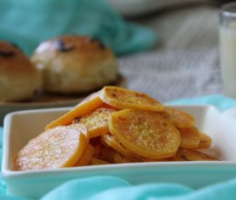 香煎红薯片的做法