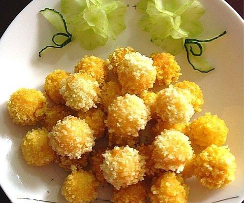 奶香土豆球的做法_【图解】奶香土豆球怎么做好吃