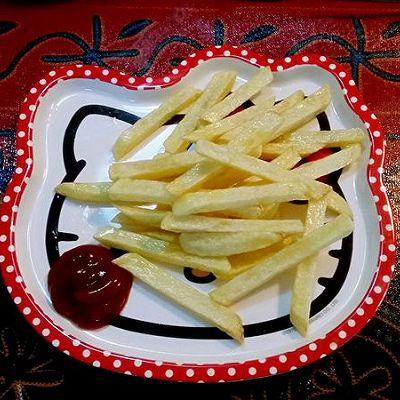 宝宝辅食菜谱:自制薯条