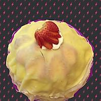 草莓香蕉双拼千层蛋糕的做法图解8