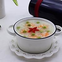 虾仁青豆糯米粥的做法图解11
