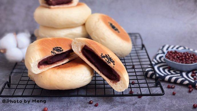 日式红豆包【附少油少糖红豆馅做法】#秋天怎么吃#