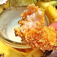 菠萝沙拉黄金虾的做法图解14