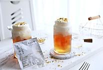 夏日治愈系茶饮❗️东方美人桂花茶冻奶盖的做法
