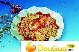 大虾炒白菜的做法