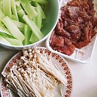 """""""水煮肉片""""(或""""水煮海鲜"""")的N种美味组合:四季水煮肉片的做法图解2"""