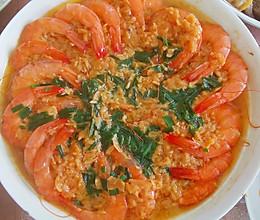 快速简单的蒜蓉虾的做法