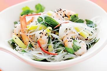 越南虾仁米粉沙拉的做法